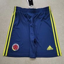2021 Colombia Home Blue Shorts Pants