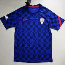 2021 Croatia Blue Training Soccer Jersey
