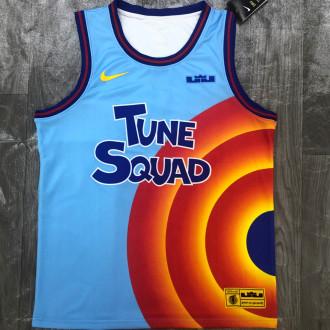 JAMES # 6 Tune Squad Concept NBA Jerseys Hot Pressed