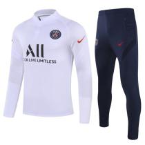 2020/21 PSG White Sweater Tracksuit