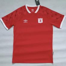 2021 America de Cali Home Red Fans Soccer Jersey