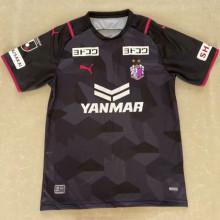 2021 Cerezo Osaka Away Black Fans Soccer Jersey(大阪樱花)