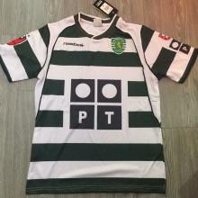 2001 Lisbon Home Retro Soccer Jersey