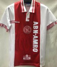 1997-1998 Ajax Home Red Retro Soccer Jersey