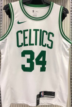 Celtics PIERCE #34 White NBA Jerseys Hot Pressed