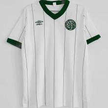 1984/86 Celtic Away White Retro Soccer Jersey
