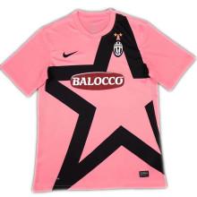 2011-2012 JUV Away Pink Retro Soccer Jersey