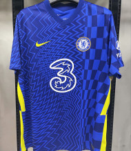 2021/22 CFC Home 1:1 Quality Blue Fans Soccer Jersey