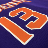 2021 Suns NASH #13 Purplee NBA Jerseys Hot Pressed