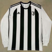 JUV Retro Black White Icon Long Sleeve Jersey