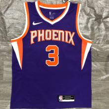 2021 Suns PAUL #3  Purplee NBA Jerseys Hot Pressed