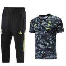 2021/22 JUV Grey Black Training Short Tracksuit (LH 短裤套装)