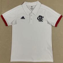 2021/22 Flamengo White Polo Jersey
