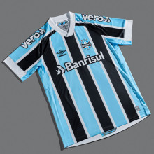 2021/22 Gremio 1:1 Quality Home Soccer Jersey(ALL Sponsors)全广告
