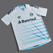 2021/22 Gremio Away1:1 Fans Soccer Jersey(ALL Sponsors)全广告