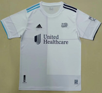 2021/22 New England Revolution White Fans Soccer Jersey