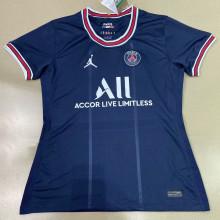 2021/22 PSG Home JD Blue Women Soccer Jersey