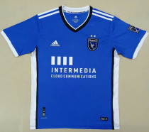 2021/22 San Jose Earthquakes Blue Fans Soccer Jersey