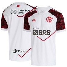 2021/22 Flamengo Away White Fans Soccer Jersey (New AD新广告)