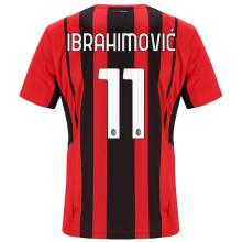 IBRAHIMOVIC #11 AC Milan 1:1 Home Fans Soccer Jersey 2021/22