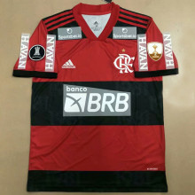 2021/22 Flamengo 1:1 Home Fans Soccer Jersey ( All AD 新全广告Have Libertadores 2 Patch 有解放者二字杯)