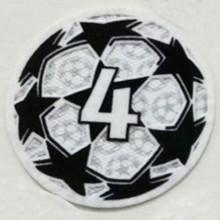 2021/22 UEFA Champion League New Sleeve Badge 4字杯