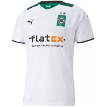 2021/22 Monchengladbach Home White Fans Soccer Jersey