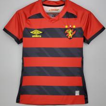 2021/22 Recife Home Black Red Women Soccer Jersey