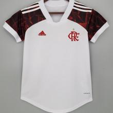2021/22 Flamengo Away White Women Soccer Jersey