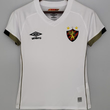 2021/22 Recife Away White Women Soccer Jersey