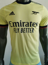 2021/22 ARS Away Yellow Player Soccer Jersey