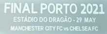 CFC 2021 UCL FINAL PORTO 2021 Fonts (You can buy it Or tell me to print it on the Jersey 欧冠决赛小字)