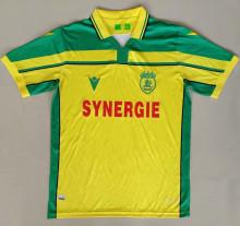 2021 Nantes nantes Maillot 8 è me é toile version Yellow Fans Soccer Jersey