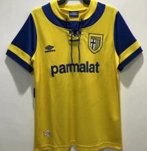 1993/95 Parma Home Yellow Retro Soccer Jersey