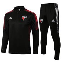 2021/22 Sao Paulo Black Sweater Tracksuit