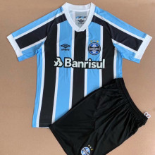 2021/22 Gremio Home Kids Soccer Jersey