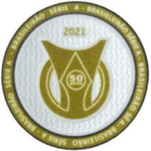 2021 BRASILEIRAO SERIE A 50 anos Patch 2021巴甲50周年新联赛臂章