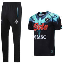 2021 Napoli Marcelo Burlon Limited Edition Black Training Tracksuit (LH 长裤套装)
