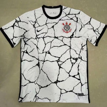 2021/22 Corinthians Home White Fans Soccer Jersey