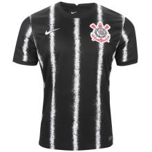 2021/22 Corinthians 1:1 Quality Away Black Fans Soccer Jersey
