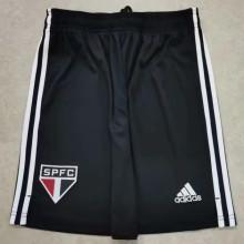 2021/22 Sao Paulo Black Fans Shorts