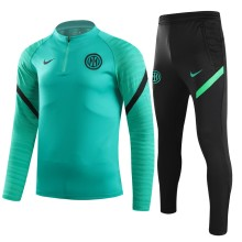 2021/22 In Milan Green Sweater Tracksuit