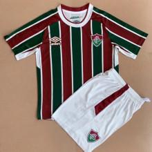 2021/22 Fluminense Home Kids Soccer Jersey