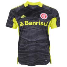 2021/22 Internacional Black Green GK Soccer Jersey