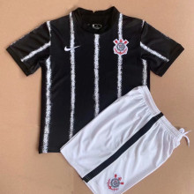 2021/22 Corinthians Away Black  Kids Soccer Jersey