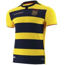 2021/22 Ecuador Home Yellow Black Fans Soccer Jersey