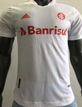 2021/22 Internacional Away White Player Version Soccer Jersey