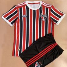 2021/22 Sao Paulo Away Kids Soccer Jersey