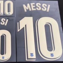 2021/22 MESSI #10 BA Home Fans Verseion Fonts 巴傻主场球迷字体