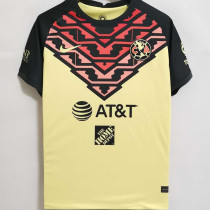 2021/22 Club America Home Yellow Fans Soccer Jersey